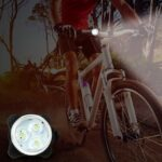 Outdoor New MTB Bicycle Taillight Lamp USB Charging Cycling Headlight Security Warning Light Red 10146
