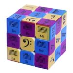 UV Printing Kwabami Music Note Pattern Third-order Magic Cube Intelligence Development Decompression Cubes