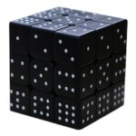 UV Print 3x3x3 Blind Embossed Magic Cube Braille Cube Puzzle Toys Sudoku Cube