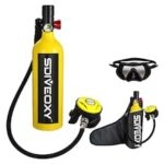 SDIVEOXY sd700 Diving Equipment 1L Diving Breathing Apparatus Oxygen Bottle Mini Oxygen Tank Diving 20 Minutes