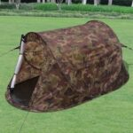 vidaXL 2person Popup Tent Camouflage
