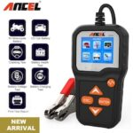 ANCEL BA301 Car Battery Tester For 6V/12V Analyzer Car Quick Cranking Charging Tester 100 to 2000 CCA Battery Tester