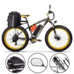 RICH BIT Electric Bike 26 Inch 4.0 Fat Tire Ebike 48V 17AH Removable Lithium Battery 1000W Motor Fat Tire  Electric Bicycle