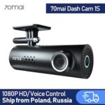 70 Mai Car DVR 1S APP English Voice Control 70mai 1S 1080P HD Night Vision Car Camera Recorder