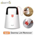 Deerma Electric Lint Remover Hair Ball Trimmer Sweater Remover USB Portable Fabric Shaver Defuzzer Clothes Trimmer 2 in 1 sticky