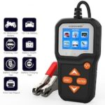 KW650 Car Battery Tester For 6V/12V Analyzer 100 to 2000 CCA Car Quick Cranking Charging Tester