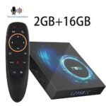T95Android10SmartTV Device 4GB16GB32GB 64GB128G AllwinnerH616 Quad Core6KH.265 2.4G 5GWifiAir Mouse Google Youtube Player Android Media Player 10.0