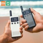 NEW Xiaomi Mijia intercom Walkie Talkie 1S With FM Radio Speaker Standby Share Fast Team Talk intercom – Blue China