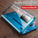 360 Magnetic Double Side Tempered Glass Case for Samsung Galaxy S20 Ultra S20 Plus Case with Camera Lens Protection Cover Cases