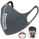 ROCKBROS Cycling Face Mask Filter Sports PM2.5 Protective Mouth-Muffle Anti-dust Anti-fog Bike Mask