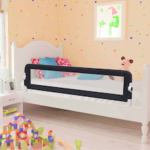 vidaXL Toddler Safety Bed Rail  15x42cm Polyester