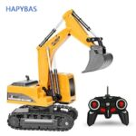2.4Ghz 6 Channel RC Excavator toy RC Engineering Car Alloy and Plastic Excavator RTR For Kids Christmas Gift