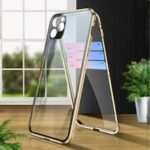 Magnetic Metal Double Side Glass Phone Cover for IPhone 11 Pro 11 11Pro Case with Camera Protector