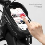 WHEELUP Bicycle Front Bag Cycling Bag bike Phone Pouch Pocket MTB Mountain Bike Bicycle Handlebar Bag