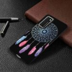 Black Background TPU Painted Phone Case for Huawei P40