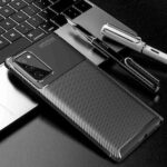Carbon Fiber Phone Case for Samsung Galaxy Note 20