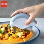 HUOHOU Pizza Cutter Stainless Steel Cake Knife Pizza Wheels knife Removable Kitchen Baking Tools For Pizza Pies Waffles From Xiaomi Youpin
