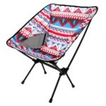 Outdoor Fishing Camping Chair Aluminum Folding Chair Portable Chair Outdoor Leisure Moon Beach Chairs