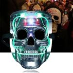 LED Skeleton Skull Carnival Mask Halloween Party Luminous Masks Cosplay Costume