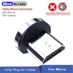 Magnetic Cable usb Type C Magnetic Charge Micro usb Cable For iPhone Samsung 2020 NEW Charging Wire 540 Degree Rotation