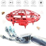 Hand Operated Drone Flying Toys for Kids Mini UFO Drone with 2 Speed Great Flying Drone Gift for Boys/Girls Flying Ball Drone Easy Indoor Outdoor Toys