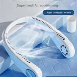 Leafless Hanging Neck Small Fan Usb Charging Lazy Portable Sporty Silent Leafless Fan