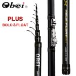 Obei INTENSA Telescopic Portable Bolo Fishing Rod 3.8 4.5 5.2m Travel Ultra Light Spinning Casting Float Fishing 10-40G Pole Rod