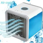 Air Conditioner Mini USB Air cooler Portable Arctic Air Conditioners Room Cooling 7 Colors LED Light Cooler Small Table Fans