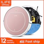 ILIFE V7s Plus Robot Vacuum Cleaner Sweep and Wet Mopping Disinfection For Hard Floors Carpet Run 120mins Automatically Charge