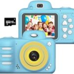 Kids Camera for 4-10 Year Old 1080P 2.4inch HD Children Digital Cameras for Kids Toys Girls Boys