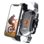 Bike Phone Holder Universal Phone Navigation 360° Rotato Mount Support Bicycle Motorcycle Handlebar Stand Phone Clip Bracket