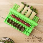 Multifunction Barbecue Stringer Skewers Tools Quick Easy BBQ Skewer Meat Vegetable Kebab Maker String Grill Kitchen Supplies
