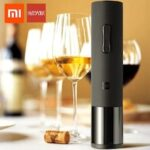 Xiaomi Huohou Automatic Wine Opener Bottle Cap Stopper Quick Decanter Electric Corkscrew Aluminum Foil Paper Cutter Cork Tool