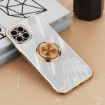 Luxury Shockproof Silicone Phone Case For iPhone 12 Case Covers Transparent Protection Back Cover – For iPhone 12
