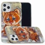 Flat Painted TPU Phone Case for iPhone 12  6.7 Inch