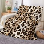 Leopard Pattern Multifunction Blanket
