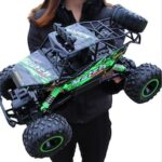 Mountain Climbing Big Foot Model Sport Vehicle Four-wheel Drive Remote Control Toy Car for Children