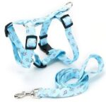 Thermal Transfer Polyester Plastic Buckle I-shaped Collar Traction Rope Pet Supplies