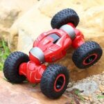 YDJ-D838 Children RC Stunt Car Toy Double-sided Flip Twisted Climbing Vehicle Remote Control Four-wheel Drive Deformed Off-road Twisted Car Flip