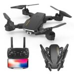 Folding 4k Dual Camera Drone Long Endurance RC Quadcopter