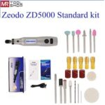 Zeodo 20W Mini Electric Grinder Set  ZD5000 DIY Wireless USB 3.7V DC Variable Speed Rotary Tools Wood Carving Pen for Milling En