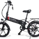 Samebike 20LVXD30 Smart Folding Electric Moped Bike 20 Inch 350W 10Ah / 48V Li-ion Battery Top Speed 35km/h Adjustable Heights