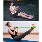 Pedal Resistance Bands Exercise Yoga Strap Elastic Pull Rope Fitness Equipment