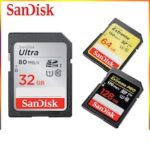 SanDisk SD Card 256g Camera High Speed U3 Memory Card 16g 32g 64g 128G SLR Camera Professional Memory Card