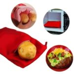 1PC Microwave Potato Bag Washable Cooker Bag Baking Potatoes Bag Easy Cooking Quick Fast Oven Bag Kitchen Baking Tools