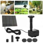 Solar Water Pump DC Submersible Water Pump For Outdoor Garden Fountain Fish Tank Pond Brushless Solar Pump