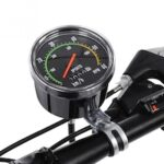 Bicycle Computer Mechanical Classic Retro Cycling Odometer Stopwatch Wired Speedometer for 26/27.5/28/29 inch Bike