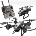 KY909 HD 4K Aerial Drones Remote Imaging Optical Flow Positioning Of The Following Model Folded Quadcopter