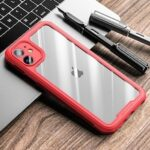 TPU + PC Transparent Phone Case Shell Cover for iPhone 12