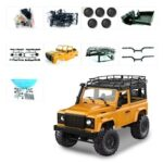 1:12 Mang Cattle Guards D90K Children's Toys Remote Control Car Four-wheel Drive Model DIY Modification